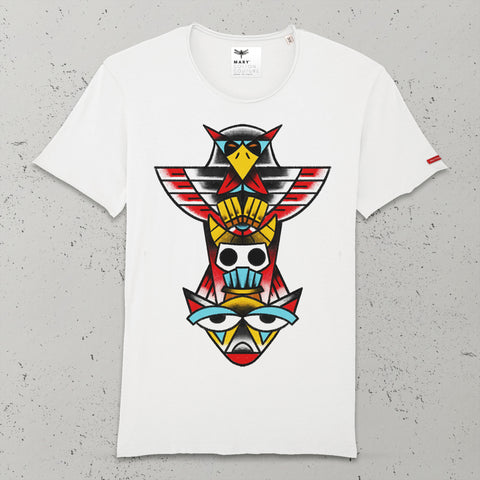 ANIMAL TOTEM T-SHIRT UOMO VINTAGE