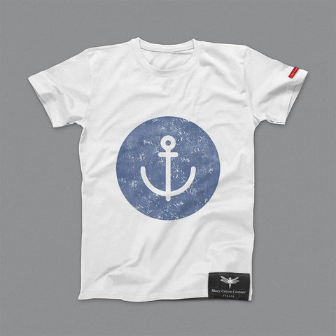 Anchor Circle Kids T-Shirt Bambino