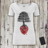 Bonsai Heart T-Shirt Donna T-Shirt