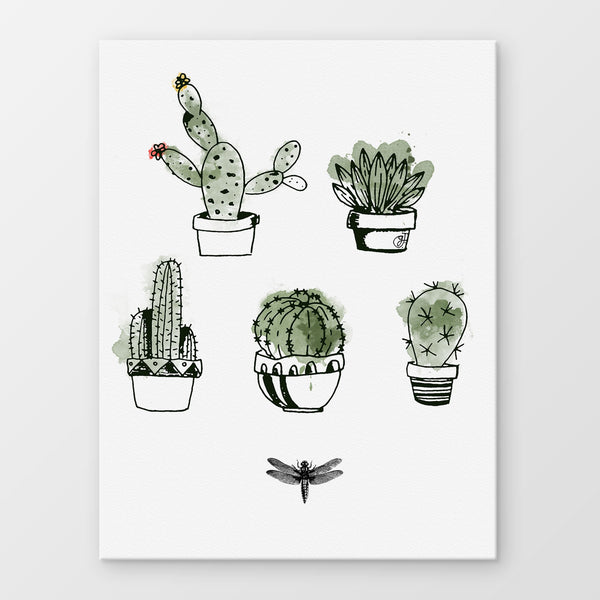 Cactus Stampa Su Canvas | Print On