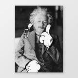Einstein Stampa Su Canvas | Print On