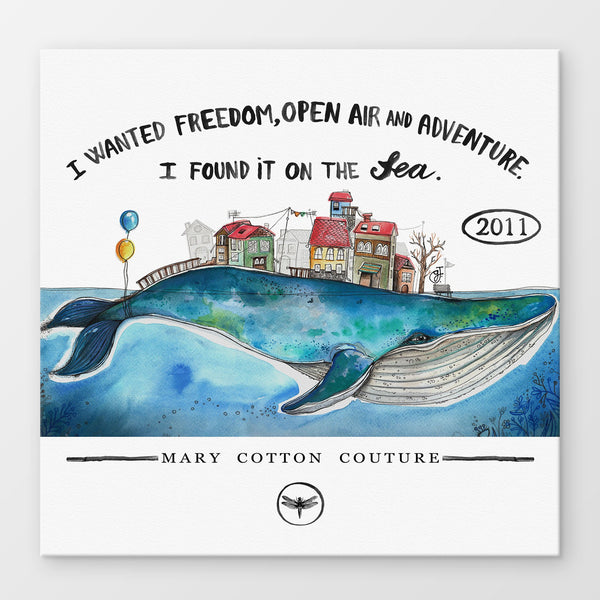 Freedom Stampa Su Canvas | Print On