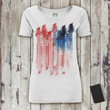 Guitar Usa T-Shirt Donna T-Shirt