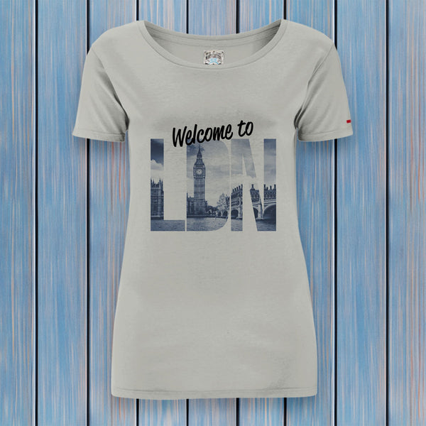 London T-Shirt Donna T-Shirt