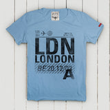 London T-Shirt Uomo