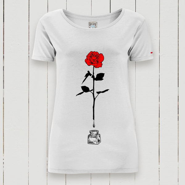 Rose Ink T-Shirt Donna T-Shirt