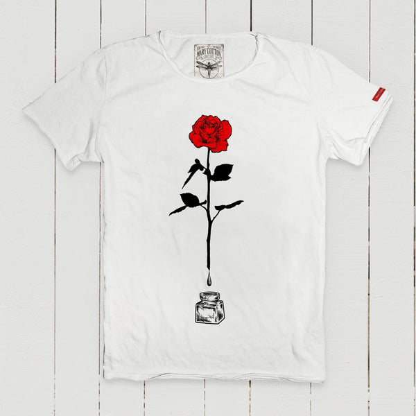 Rose Ink T-Shirt Uomo T-Shirt