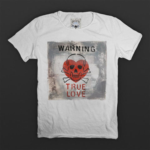 Warning T-Shirt Uomo T-Shirt