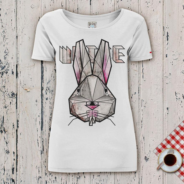 White Rabbit T-Shirt Donna T-Shirt