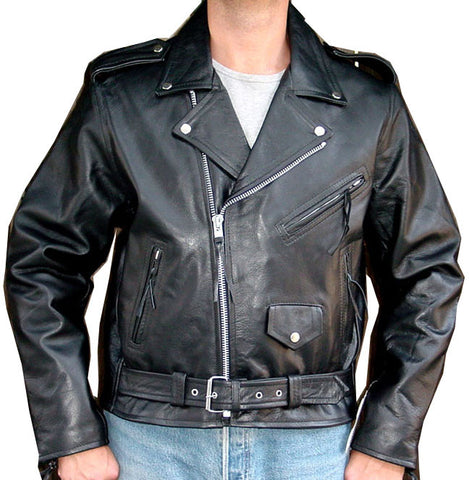 Motorcycle leather Jacket Thick