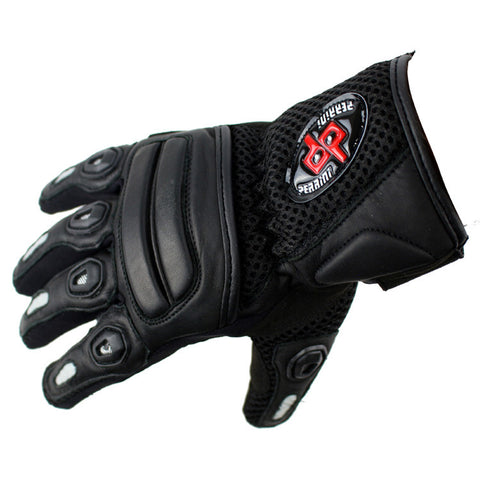 Perrini Pro Biker Bike Motorcycle Racing Motorbike Riding Genuine Leather Racing Gloves