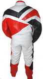Perrini Venom 2 pc Motorcycle Riding Racing Track Suit Drag Suit Red/Black/White