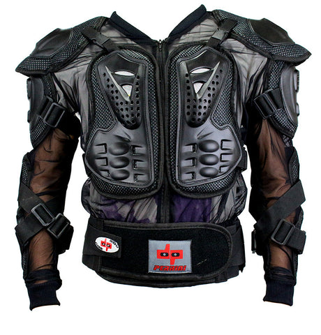 CE Approved Perrini Full Body Armor Motorcycle Jacket