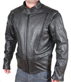 V-Pilot Motorcycle Leather Jacket