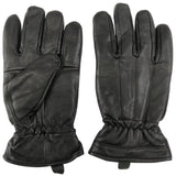 Leather Cold Weather Winter Gloves Cowhide Motorcycle Leather Gloves