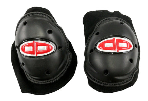 Pair of Perrini Knee Pucks for Motorcycle Leather Suits
