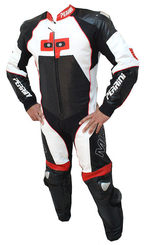 Perrini MI3 Next Generation 1pc Motorcycle Racing Leather Suit ON SALE