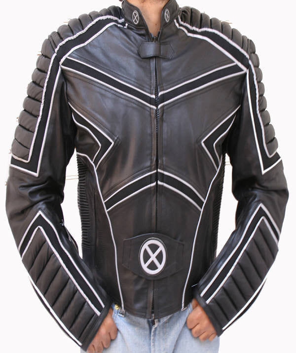 49122b50 Motorcycle Leather Jacket Racing X-MAN CE Armor – TopGearLeathers