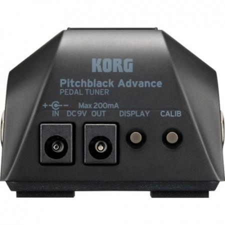 Korg Pitchblack Advance chromatisch stemapparaat zwart