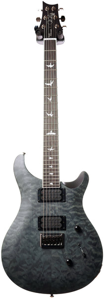 PRS SE Mark Holcomb Stealth Quilt Satin LTD, Grey Black