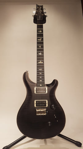 Electric Guitars For Sale PRS CUSTOM 24 SATIN CHARCOAL 10 TOP American Guitarstore