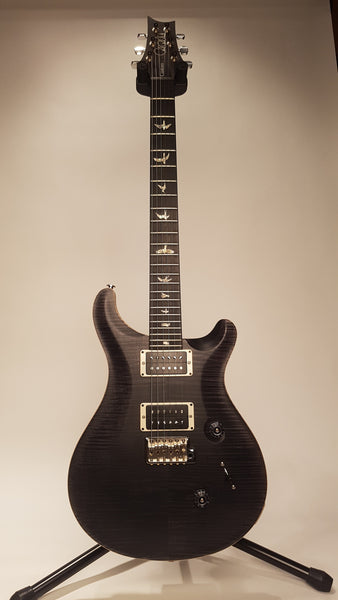 PRS CUSTOM 24 SATIN CHARCOAL 10 TOP