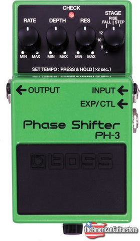 Effect Pedal For Sale Boss PH-3 American Guitarstore