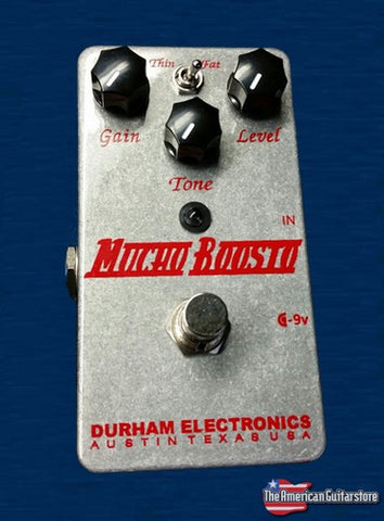 Effect Pedals For Sale Durham Electronics Mucho Boosto American Guitarstore