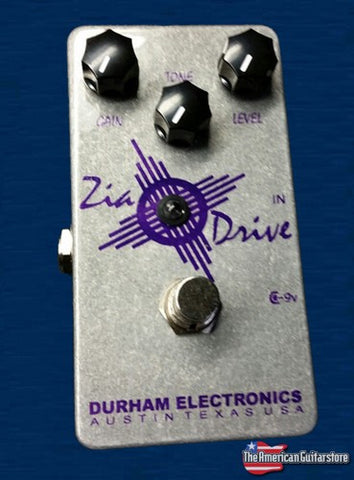 Effect Pedals For Sale Durham Electronics Zia Drive American Guitarstore