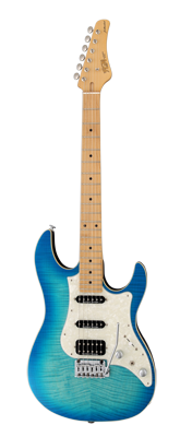 Electric Guitars For Sale FGN Standard Odyssey Flamed Ocean Bleu American Guitarstore