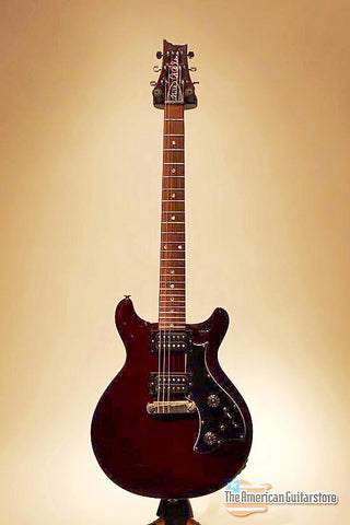 Electric Guitars For Sale | Paul reed Smith Mira black Cherry | American Guitarstore