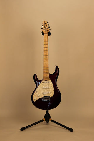 Electric Guitars For Sale Musicman Silhouette Special Purple Lefty American Guitarstore