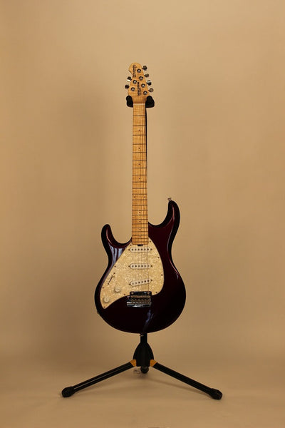 Musicman Silhouette Special Purple Lefty