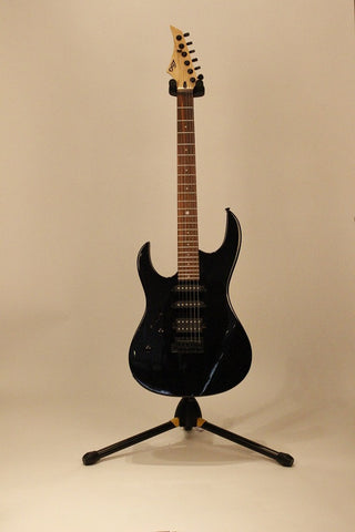 Left Hand Guitars For Sale LAG Arkane 66 Lefty Black American Guitarstore
