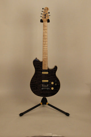 Electric Guitars For Sale | Sterling SUB AX3 Black | American Guitarstore
