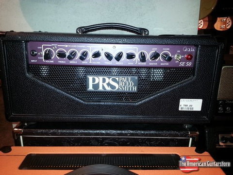 Amplifiers For Sale | PRS SE 50 Head | American Guitarstore