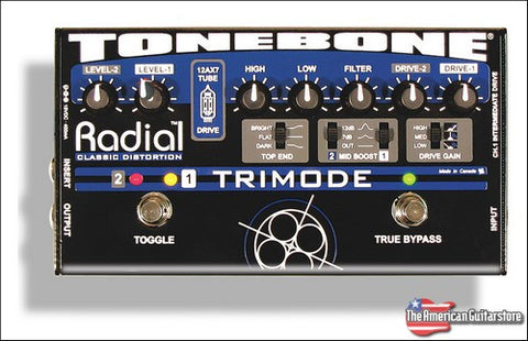 Effect Pedals For Sale | Tonebone Radial Trimode | American Guitarstore