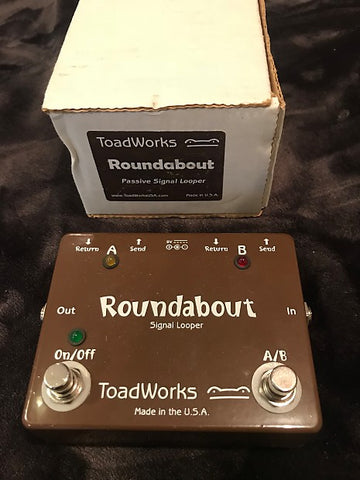 Effect Pedals For Sale | TOADWORKS ROUNDABOUT | American Guitarstore