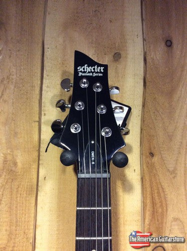 Schecter Omen 6 Black Lefty