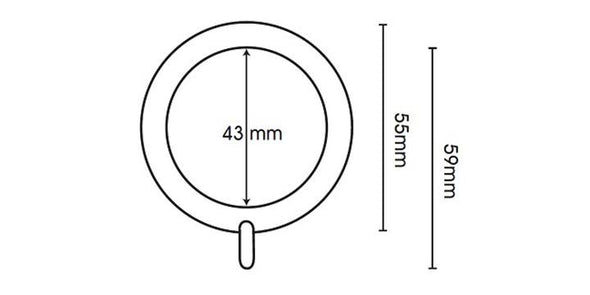 Swish Elements Zorb 28mm Graphite Pole