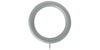 Hallis Honister 50mm Pale Slate Curtain Pole Rings (Pack 4) - Curtain Poles Emporium