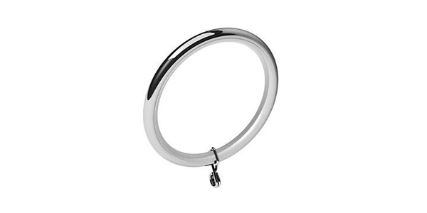 Swish 28mm Chrome Curtain Rings