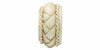 Integra Masterpiece Collection Distressed Cream 50mm Curtain Pole Byzantine Finial - Curtain Poles Emporium