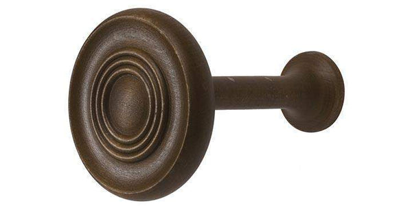 Hallis Modern Country Dark Oak Wooden Holdback - Curtain Poles Emporium