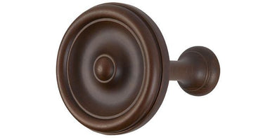 Hallis Museum Holdbacks Satin Chestnut (Set of 2)-Curtain Poles Emporium