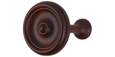 Hallis Museum Satin Mahogany Holdbacks (Set of 2)-Curtain Poles Emporium