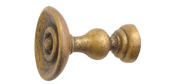 Jones Cathedral Antique Gold Holdback-Curtain Poles Emporium