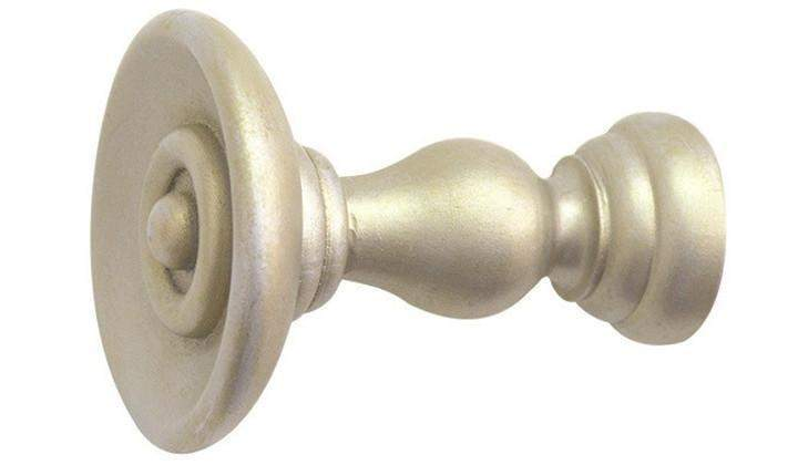 Jones Cathedral Champagne Silver Holdback - Curtain Poles Emporium