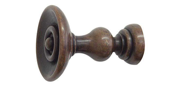 Jones Cathedral Oak Holdback - Curtain Poles Emporium