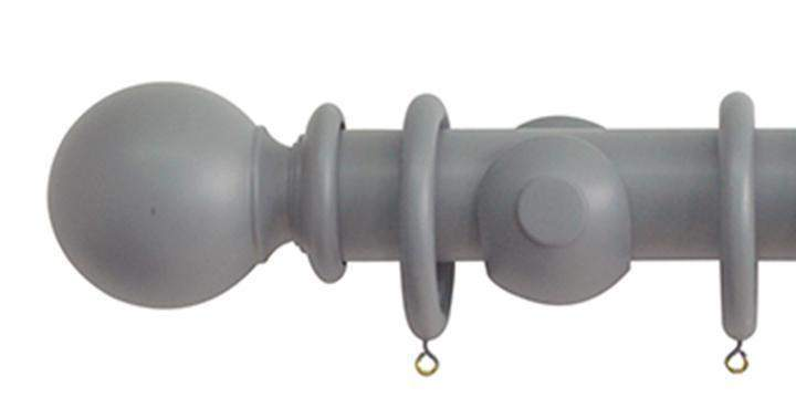 Jones Estate 50mm Lead Curtain Pole Ball Finial - Curtain Poles Emporium